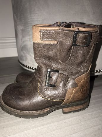 Made in Portugal r. 23 wysokie buciki buty dziecięce