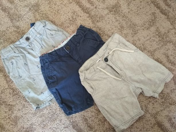 Штаны и шорты gap, h&m 12-18мес