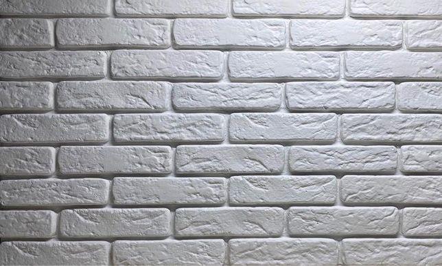 Декоративная гипсовая плитка «Римский кирпич» 140грн м2