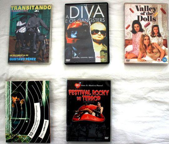 5 Filmes DVDs Especiais