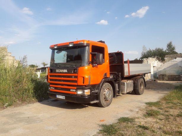 Scania 4 hds+wywrot - specjalny