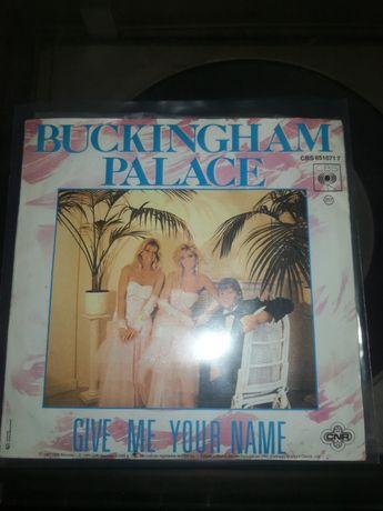 Single vinil Buckingham Place italo Disco