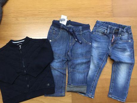 Calcas menino 1-2 anos (82cm) benetton