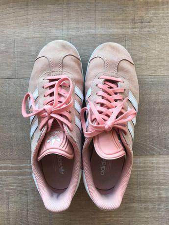 Ténis Adidas Gazelle Rosa originais