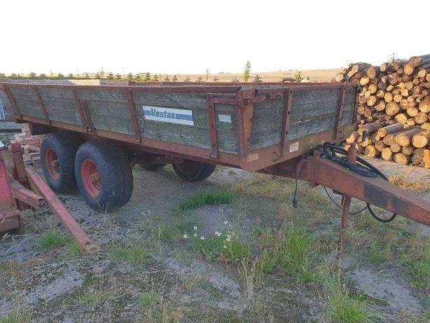Przyczepa tandem 8 ton sprowadzona