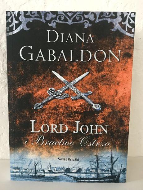 Lord John i Bractwo Ostrza Diana Gabaldon NOWA