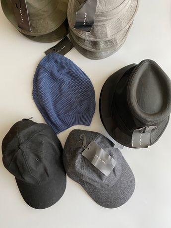 Мужские шляпы, кепки zara оптом сток опт