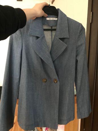 піджак жіночий синій NAKED