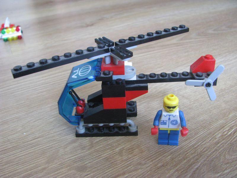 Lego helikopter, sygnalizacja, lata 90 Warszawa - image 1