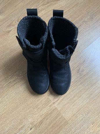 Детские зимние ботинки Ecco 34р
