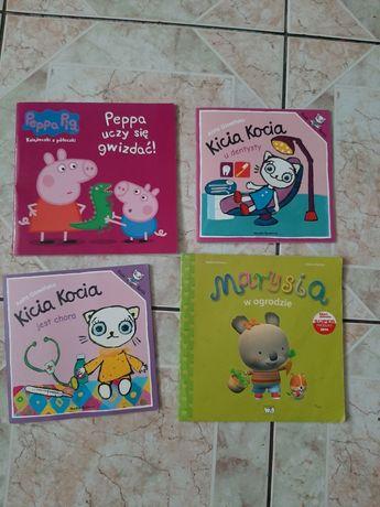 Zestaw 4 książeczek dla dzieci