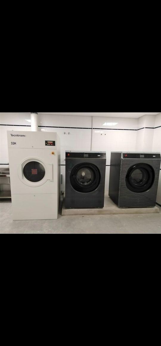 Lavandaria self service ou indústrial lar e Residência