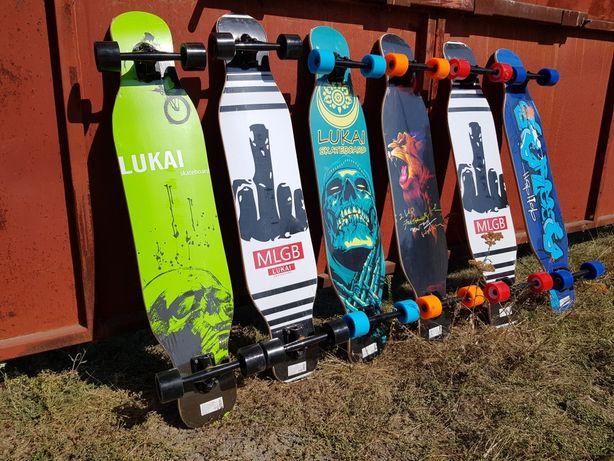 Лонгборд, круизер, скейтборд, скейт из канадского клена