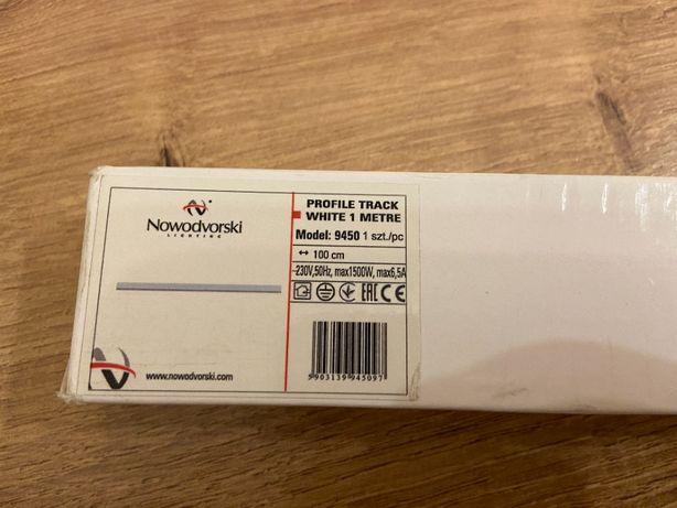 Szyno Przewody PROFILE TRACK Nowodvorski Biały 1M Szyna
