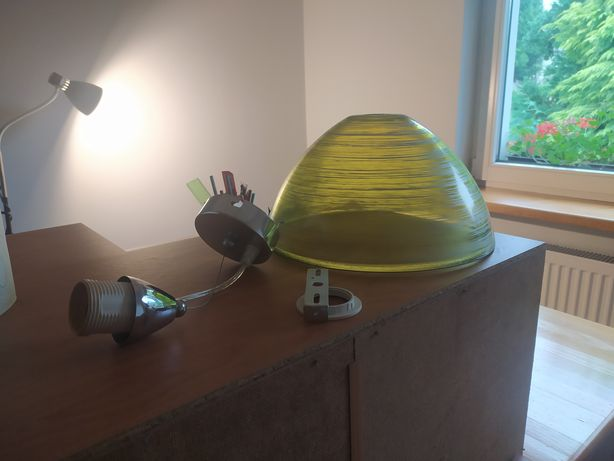 Lampa szklana TANIO