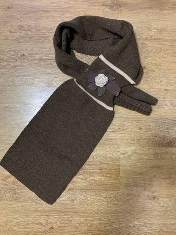 SALE!!! Новый женский шарф Камея с декором!!!