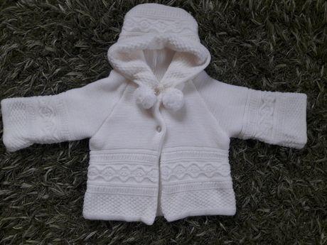 Sweterek ubranko do chrztu r. 80 86 chrzest