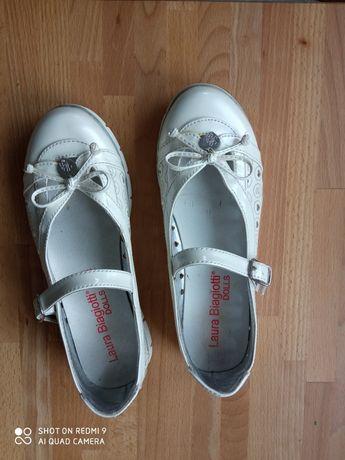 Buty komunijne dziewczęce