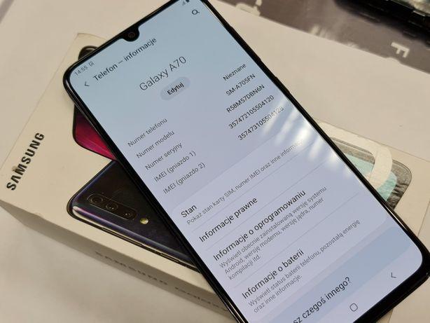 Samsung Galaxy A70 Dual SIM LTE/ Black/ Stan BDB+/ Gwarancja/ sklep