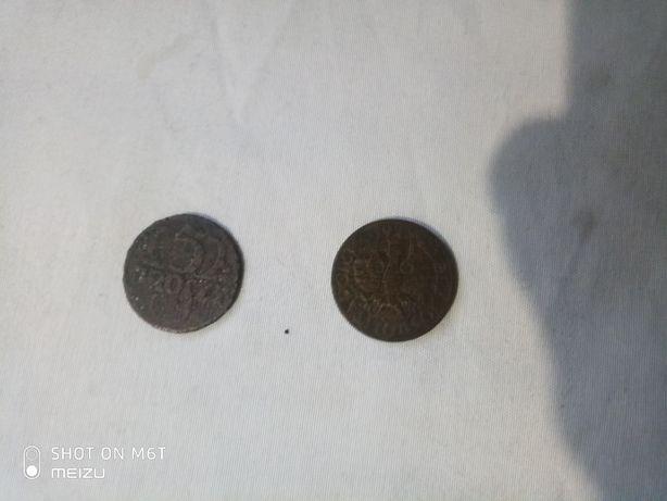 Продам 2 монеты Речпосполыты !