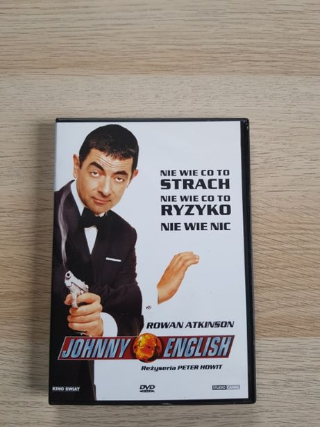 Johnny English Film DVD