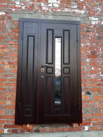 Вхідні двері броньовані,металеві під замовлення.