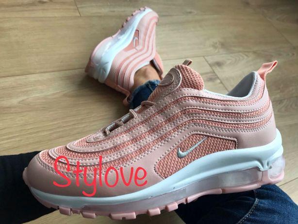 Nike Air Max 97 Rozmiar 38. Pudrowe Różowe. WYPRZEDAŻ!!!
