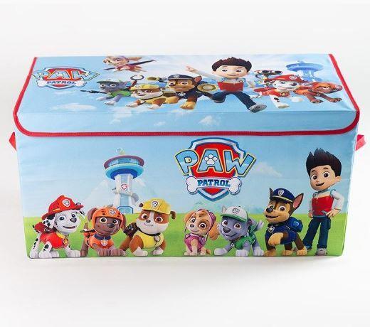 Коробка ящик для хранения игрушек и детских вещей Щенячий патруль