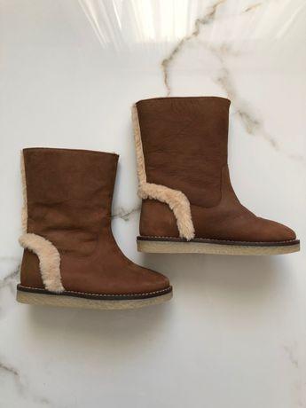 Зимние сапожки Zara 27 размер
