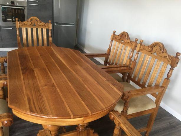Продам стіл +6 стільців для кухні чи вітальні