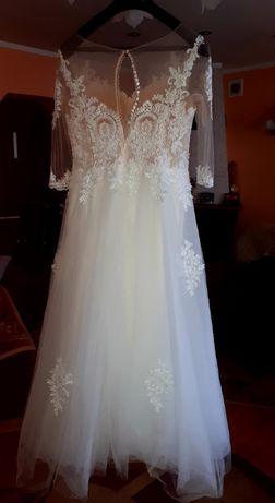 Sprzedam Suknię Ślubną rozmiar 42