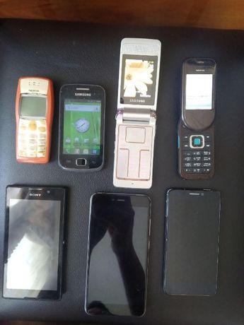 телефоны 6 шт на ремонт или запчасти (xiaomi) продан