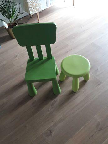 Krzesla IKEA mamut 2 sztuki