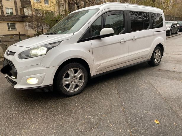 Ford Connect Tourneo Transit пасс. MAXI.+зимняя резина с дисками.Торг!