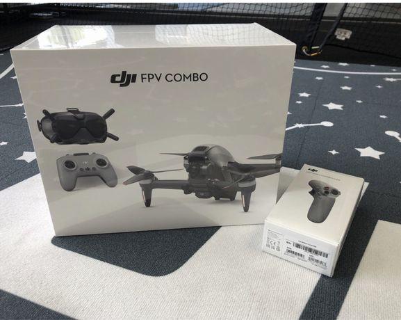 дрон DJI FPV Combo UA OFFICIAL + motion controller