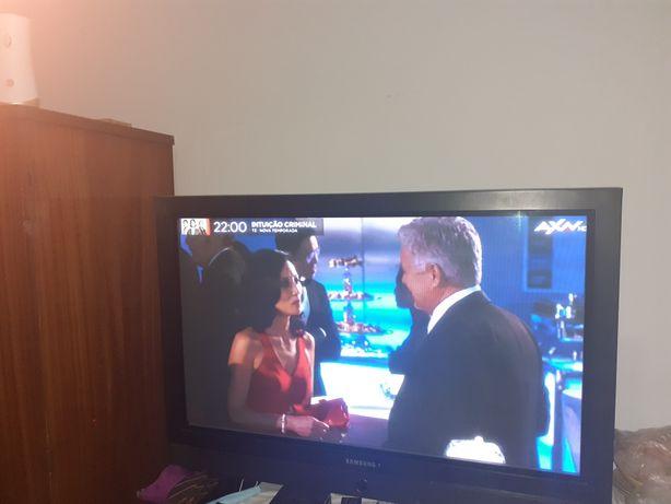 Tv plasma + frigorifico + samsung galaxy J3