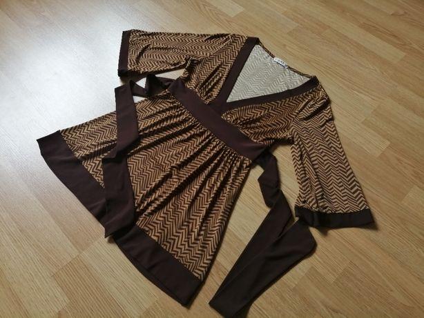Tunika bluzka damska USA rozmiar S wysoka jakość materiału