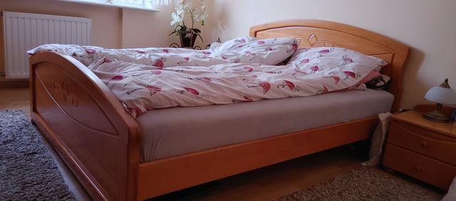 Łóżko drewniane bukowe 160×200