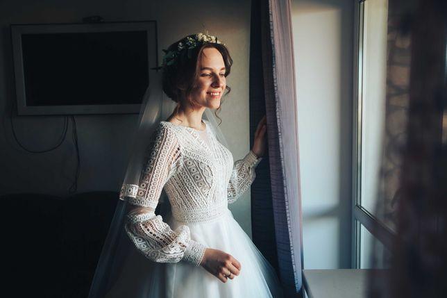 "Весільна сукня в стилі ""Бохо"""