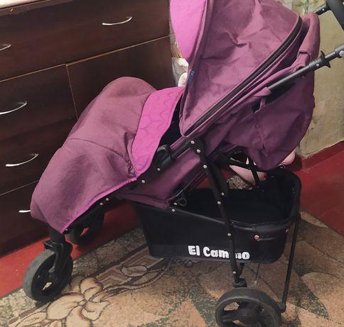 Продам прогулочную коляску книжка El Camino цвет марсала!
