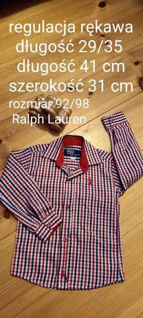 Koszula chłopięca rozm 92/98 Ralph Lauren