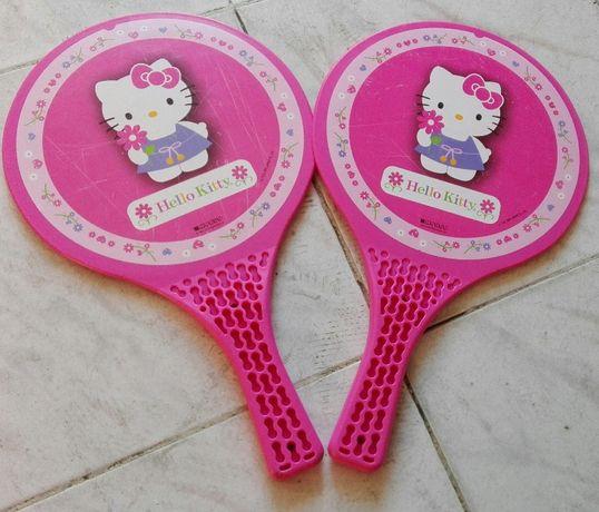 Raquetes rosa Hello Kitty Portes Incluídos criança