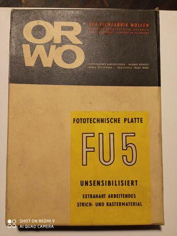 ORWO Fototechnishe Platte FU5