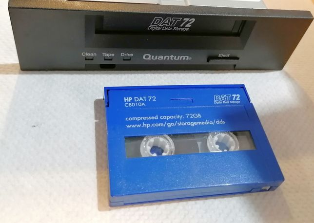 Napęd DAT72 SCSI Quantum + kartridż gratis