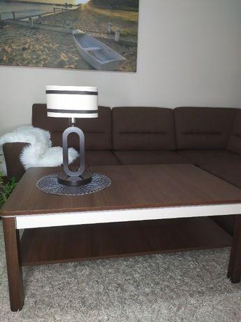 zestaw mebli Stół+2 szafki nocny+lampa
