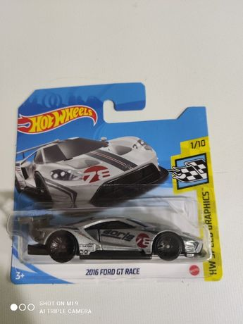 2016 Ford GT Race Hot Wheels