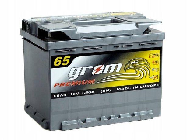 Akumulator Grom Premium 65Ah 650A