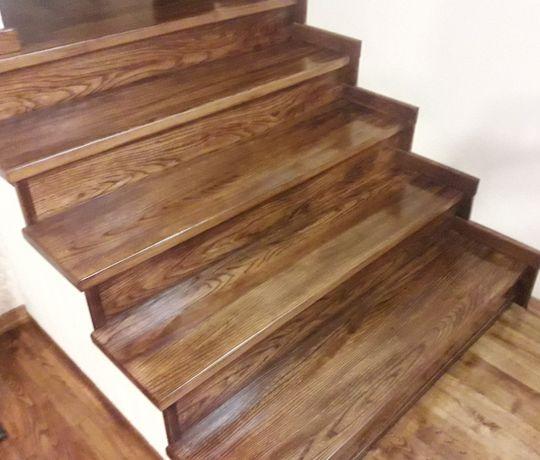 trepy drewniane na schody
