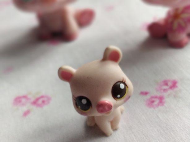 Littlest Pet Shop - LPS - Hasbro - Mała, mini świnka, prosiaczek baby