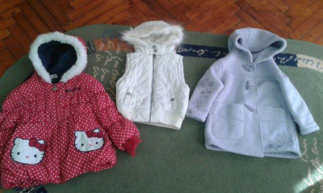Верхній демісезонний одяг для дівчинки,недорого!
